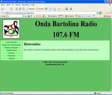 Radio Huelva Onda Bartolina