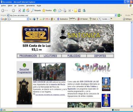 Radio Huelva Ser Costa de la Luz
