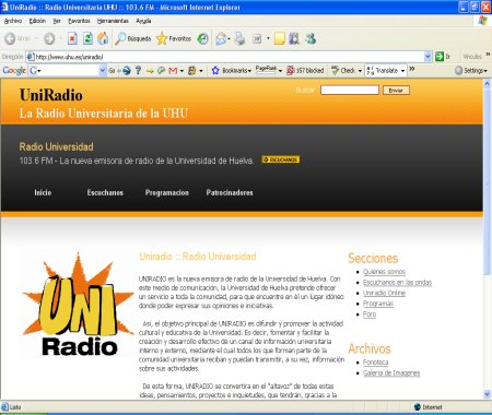 Radio Huelva Uni